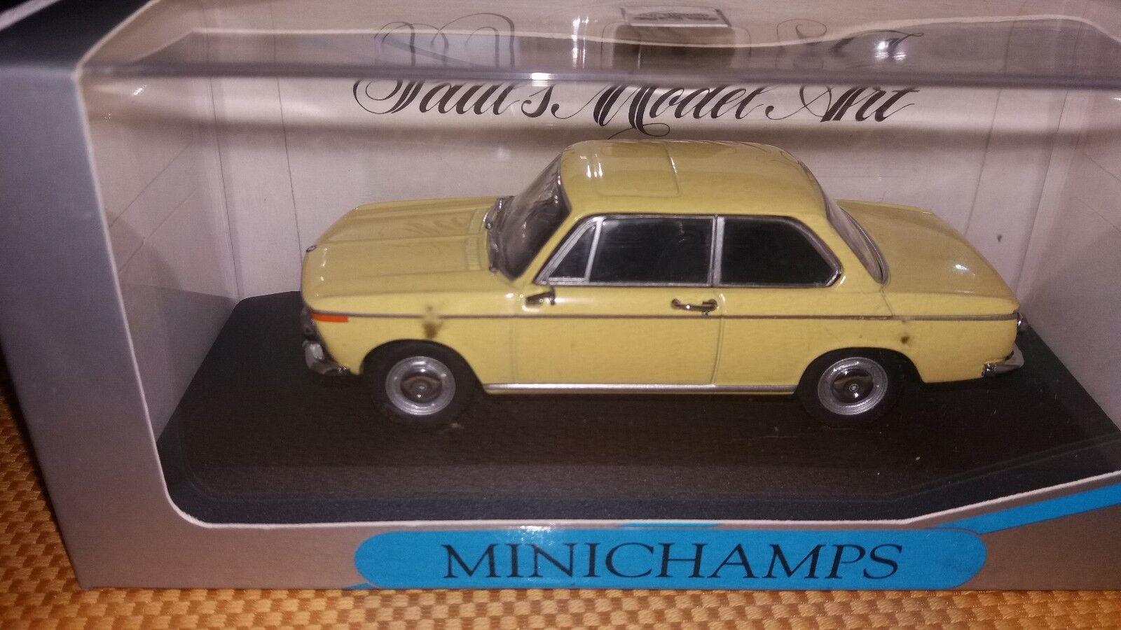 Minichamps 1 43 BMW 1600-2 jaune