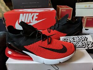 outlet store a333d 70996 Image is loading Nike-Air-Max-270-Flyknit-Chile-Red-Challenge-