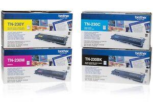 PL Neu Brother TN-230 TN230 Toner Set CYMK A