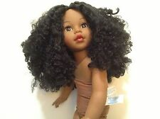 "2009 Madame Alexander Gorgeous Curly Hair 18"" African American Doll (#IB-F-3)"