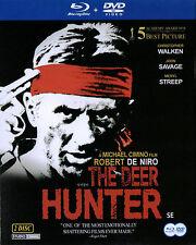 The Deer Hunter - Robert De Niro Meryl Streep [ 2 Disc Set 1 Blu Ray 1 DVD ] NEW