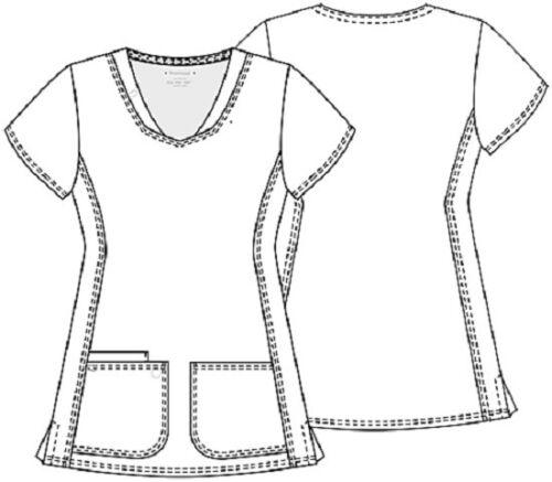 Scrubs Heartsoul Short Sleeve Scrub Top 20710 ROYH Royal Free Shipping