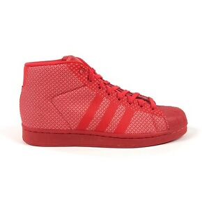 Adidas-Originals-Pro-Model-Weave-Red-Mens-Size-9-5-Shoes-Sneakers-AQ2725