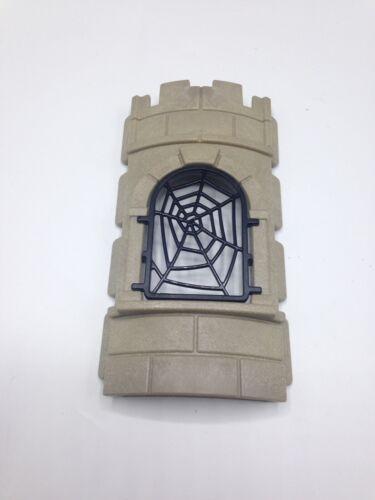 Playmobil Geobra Curved Walk Web Window Magician Workshop Wizard Window