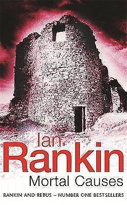 Mortal Causes: An Inspector Rebus Novel by Ian Rankin (Paperback, 1995) blue