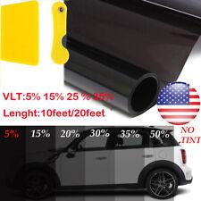 "Uncut Window Tint Roll 20/% VLT 20/"" 100ft feet Home Commercial Office Auto Film"