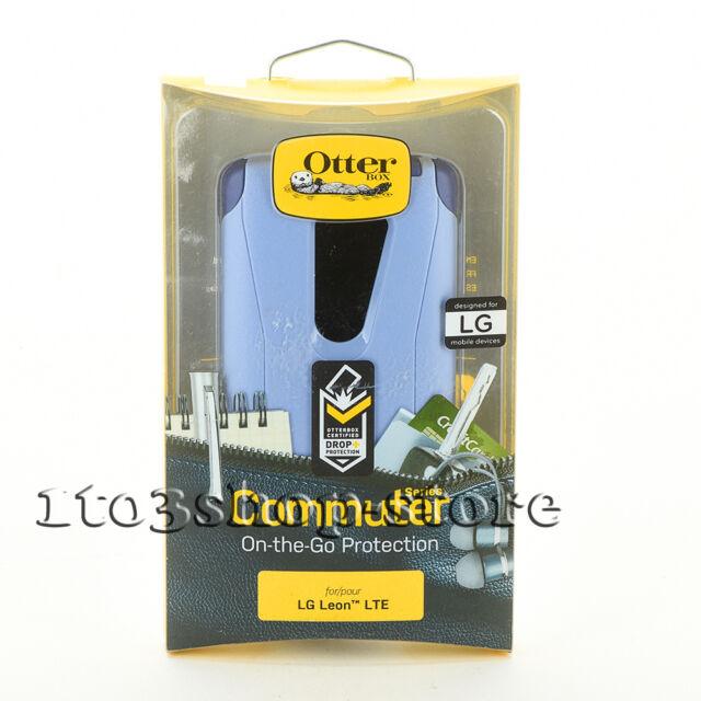 OtterBox Commuter LG Leon LTE Hard Shell Snap Cover Case Amethyst Liberty Purple