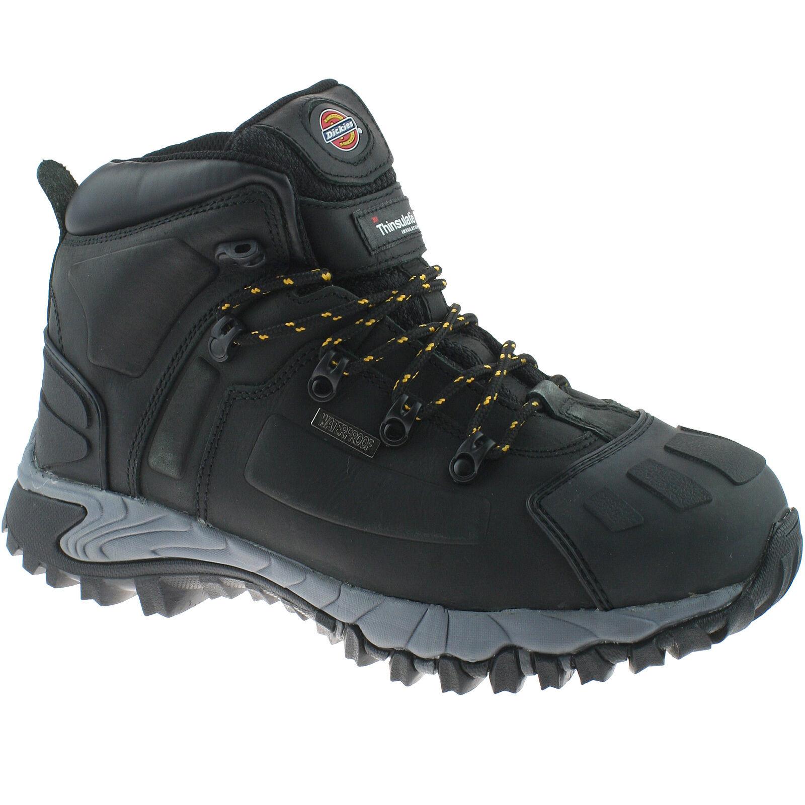 Dickies Medway Nero Sicurezza Stivali Taglia EU 44 FD23310 Impermeabile Hiker