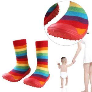 Baby Infant Cartoon Patterned Soft Rubber Bottom Anti Slip