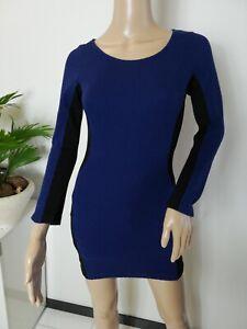 damen sexy kleid minirock party abendkleid cocktailkleid schwarz  blau gr 32  ebay