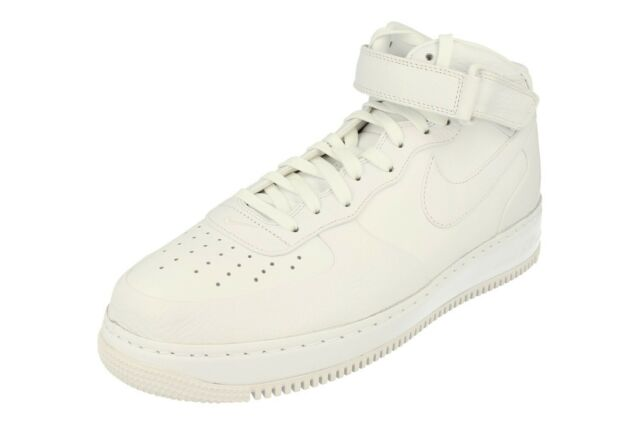 05c2e63158fcf Nikelab Air Force 1 Mid Mens Hi Top Trainers 819677 Sneakers Shoes 100