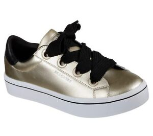 1cf096723945 Skechers Street Women s Hi Lites-Metallics Gold 957 GLD Air Cooled ...