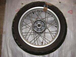 1x Ruota Posteriore 3.00x17 Cerchione Wheel Roue Aprilia Pegaso 650 BMW F650