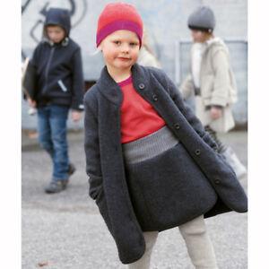 Wollwalk mantel madchen