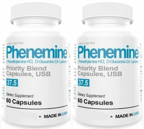2 Phenemine Adipex Lose Weight Loss Pharmaceutical Grade 37.5 P Best Diet Pills