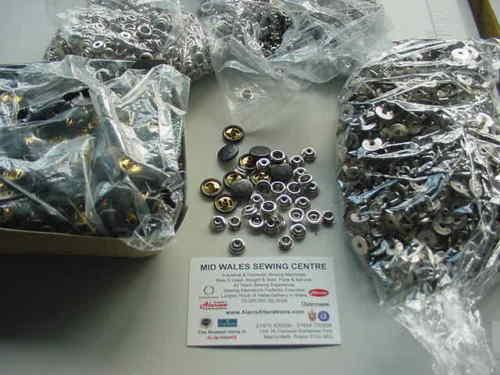 100 14mm Bronce Ultimate Calidad Popper 4 Piezas Conjuntos