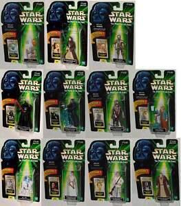 Variantes de la série Star Wars Flashback Lot Vader Luke Leia Yoda Chewbacca Palpatine