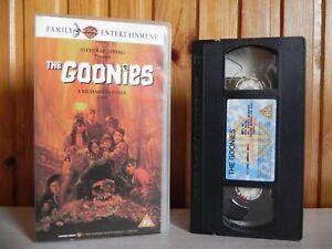 The Goonies Warner Home Video Steven Spielberg Richard Donner Pal Vhs Ebay