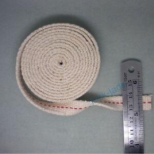 Width-1-2-inch-20-feet-length-1-25x609cm-FLAT-COTTON-KEROSENE-OIL-LAMP-WICK