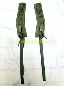 US Military ALICE Pack Padded LC-2 Shoulder Straps RIGHT & LEFT w/ QR Straps NEW