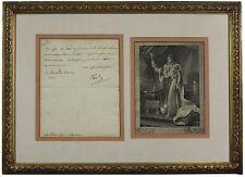 Napoleon Bonaparte - Letter Signed as Emperor; Authentic, Autograph, Signature