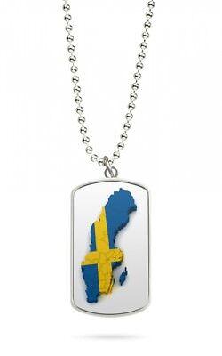 Gehorsam Kette Dog Tag Anhänger Schweden Stockholm 2