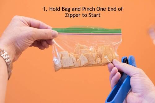 The Original Zipper Lock Bag Sealer ZipSealer