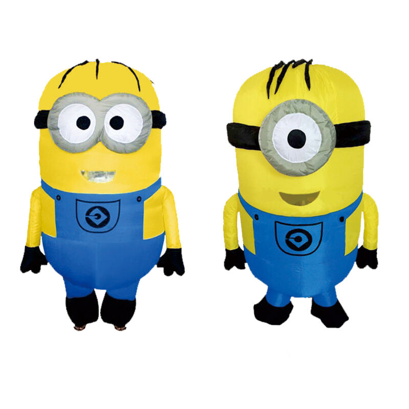 Despicable Me - Inflatable Minion Costume Halloween Cosplay Mascot Outfit For Adult