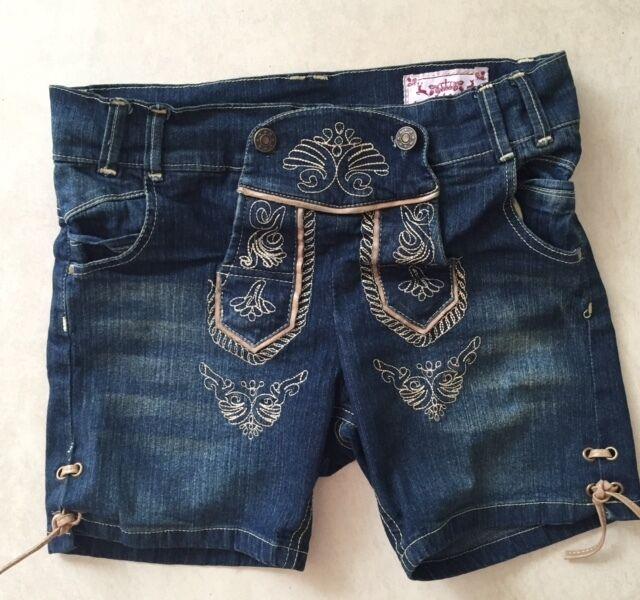 Kurze Jeans Trachtenhose Damen Lederhosen Style  Theresia Theresia Theresia  Gr.34-44 NEU  | Angemessener Preis  | Zürich  | Hohe Qualität Und Geringen Overhead  ca2a2f