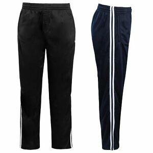 Mens-Tracksuit-Joggers-Jogging-Striped-Gym-Sports-Silky-Bottoms-Trousers-Pants