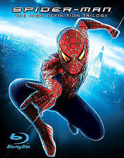Spider-Man: The High Definition Trilogy (Spider-Man 1-3) [Blu-ray] NEW!