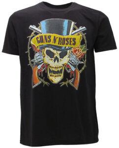 T-Shirt-Hard-Rock-Guns-N-039-Roses-Teschio