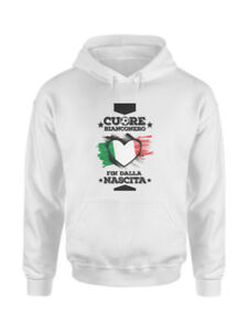 Felpa-con-Cappuccio-Juventus-Cuore-Bianconero-Unisex-Idea-regalo-Tifoso