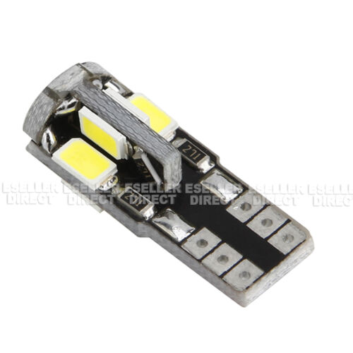 NEW BMW E46 SIDELIGHTS CANBUS 501//W5W//T10 LED 5730 SMD LIGHT BULBS XENON WHITE