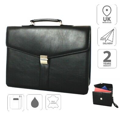 Finta Pelle Valigetta Business Attache Borsa Fi2580 + Gratis Borsa Ipad-