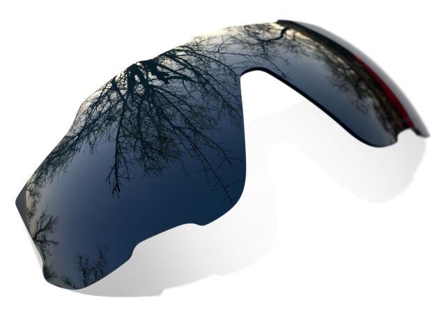 0129e29c7e SuRe Polarized Black Iridium Replacement Lenses for Oakley Jawbreaker