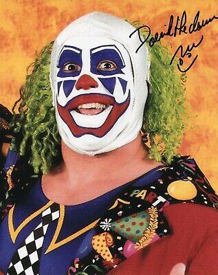 DOINK THE CLOWN AUTOGRAPH SIGNED 8X10 COA WWE WWF