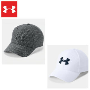 11942d23efeb5b UNDER ARMOUR Mens Caps Hats Printed Blitzing 3.0 Cap 2018 White/Grey ...