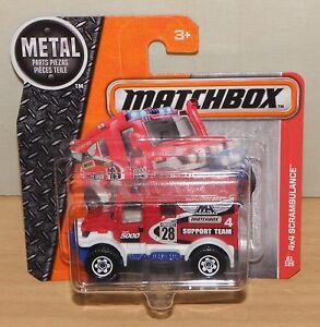 4x4 SCRAMBULANCE Emergency Unit MATCHBOX Rettungswagen MBX Modellauto 1:64 NEU - Deutschland - 4x4 SCRAMBULANCE Emergency Unit MATCHBOX Rettungswagen MBX Modellauto 1:64 NEU - Deutschland