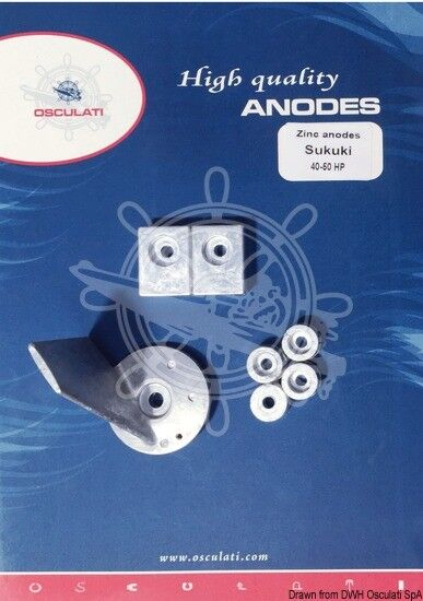 OSCULATI Anoden-Set Suzuki 90/140 PS Magnesium