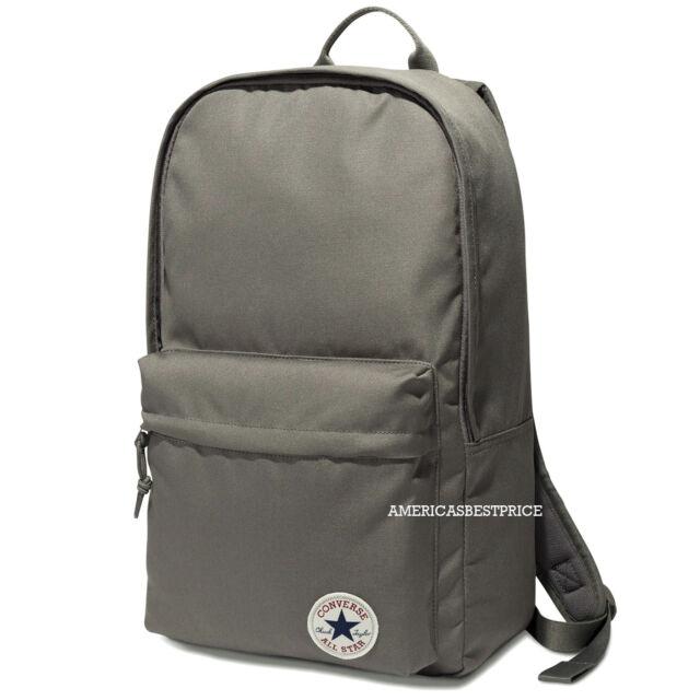 bf04df2df3 Converse All Star EDC Poly Rucksack Backpack Laptop Bookbag Unisex Gray
