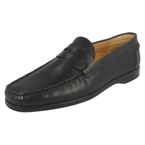 'newport' nero brunito Nero Shoes On Mens Grenson Slip OwC1wpq