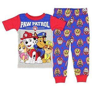 Paw-Patrol-Boys-Toddler-Pajama-Set-Size-2T-3T-3T-NWT