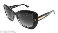 Authentic DOLCE & GABBANA Polarized Black Pearl Sunglass DG 4205 - 2771T3 *NEW*