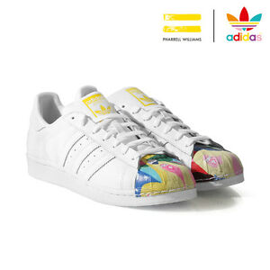 ADIDAS-ORIGINAL-SUPERSTAR-FHARRELL-WILLIAMS-BLANC-REF-S83356