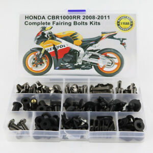 Steel-Fairing-Bolts-Screws-Fasteners-Kit-Fit-For-Honda-CBR1000RR-08-211-Titanium