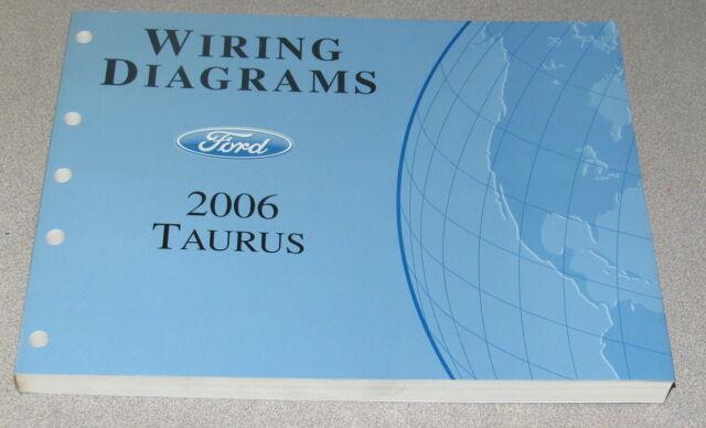 2006 Ford Taurus Wiring Diagram Service Manual | eBay