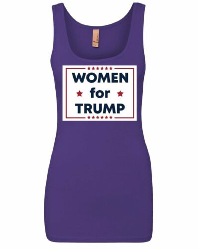 Women for Trump Women/'s Tank Top Republican Girl GOP Conservative Lady Top