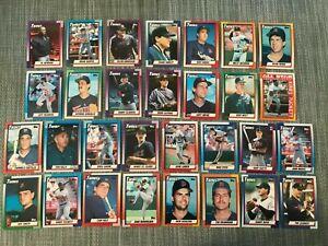 1990-MINNESOTA-TWINS-Topps-COMPLETE-Baseball-Team-SET-30-Cards-PUCKETT-HRBEK