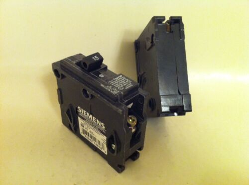 *LOT OF 2* ITE Siemens Type QP Q115 PLUG IN CIRCUIT BREAKER 15 AMP 1 POLE